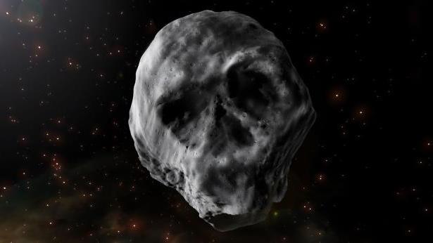 Skull-asteroid